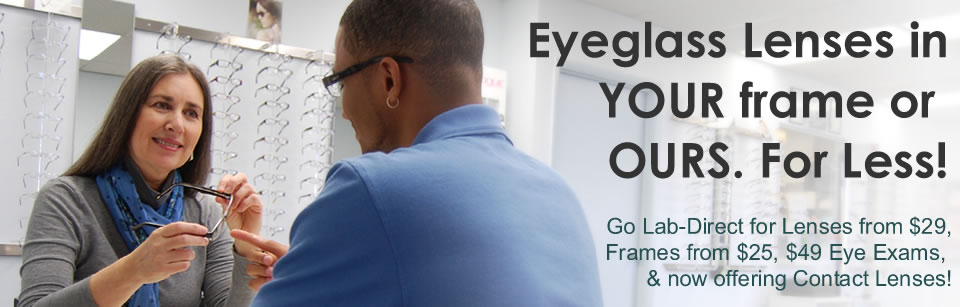 eyeglass lenses and eyewear in denver lens replacement specialists