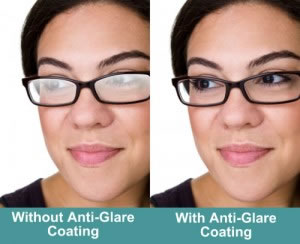 Anti Glare Coatings eliminate 99% of reflections