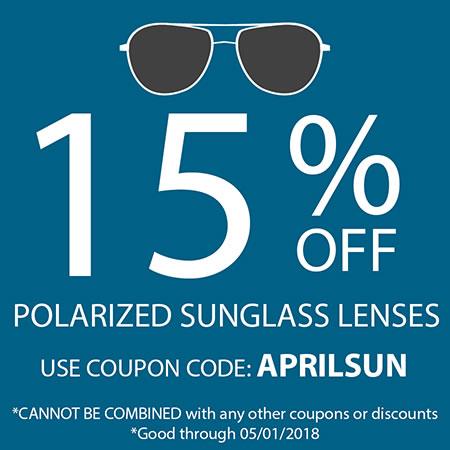 Save on Polarized Lenses!