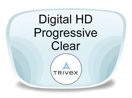 Digital Hd Progressive Trivex Prescription Eyeglass Lenses