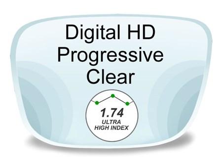 4e8095d4b1 Digital (HD) Progressive High Index 1.74 Prescription Eyeglass Lenses