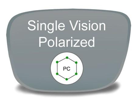 e6f755ca747 Single Vision Polycarbonate Polarized Prescription Eyeglass Lenses Larger  Photo